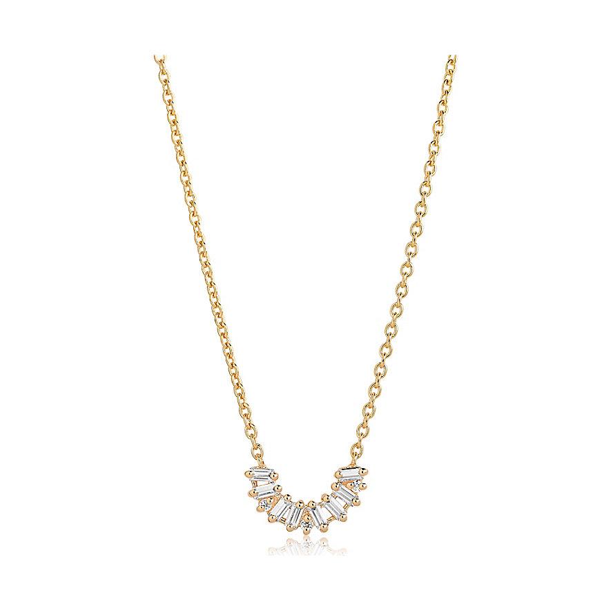 Sif Jakobs Jewellery Kette Antella SJ-C0164-CZ-YG