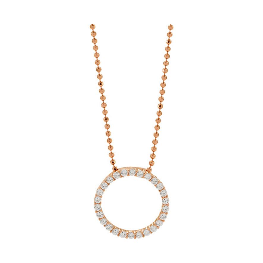 Sif Jakobs Jewellery Kette Biella SJ-P3120-CZ-RG