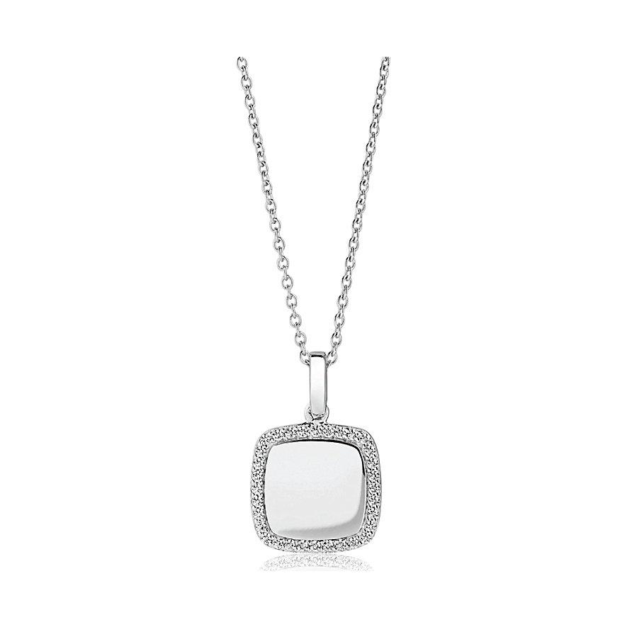 Sif Jakobs Jewellery Kette Follina Quadrato SJ-P3774-CZ/45
