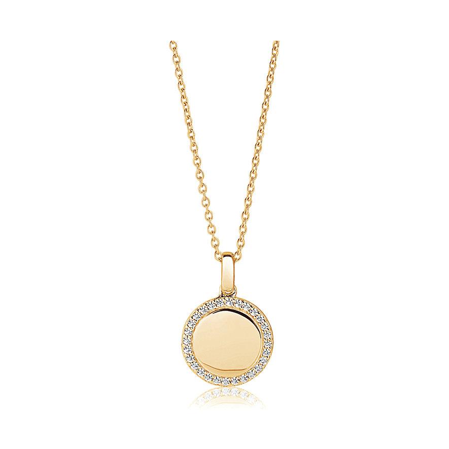 Sif Jakobs Jewellery Kette Follina SJ-P3780-CZ(YG)/45