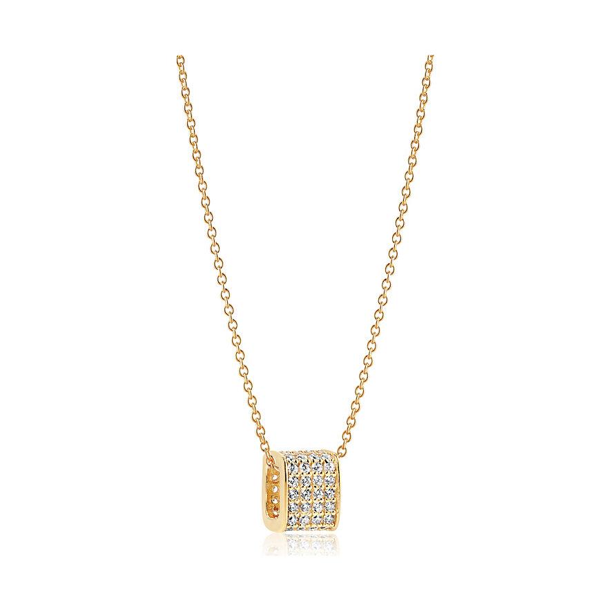 Sif Jakobs Jewellery Kette Matera SJ-P1034-CZ-YG-45