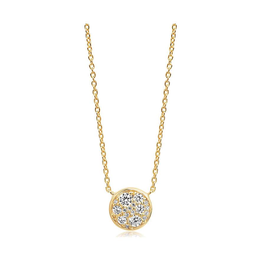 Sif Jakobs Jewellery Kette Novara SJ-C1056-CZ-YG