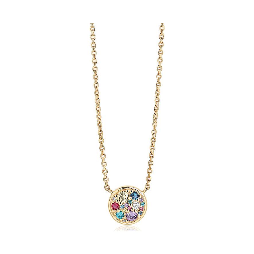 Sif Jakobs Jewellery Kette Novara SJ-C1056-XCZ(YG)