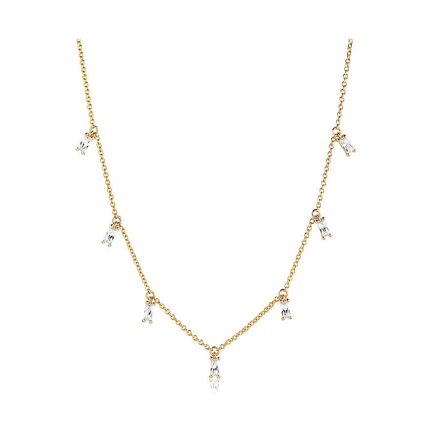 Sif Jakobs Jewellery Kette Princess SJ-C1074-CZ-YG