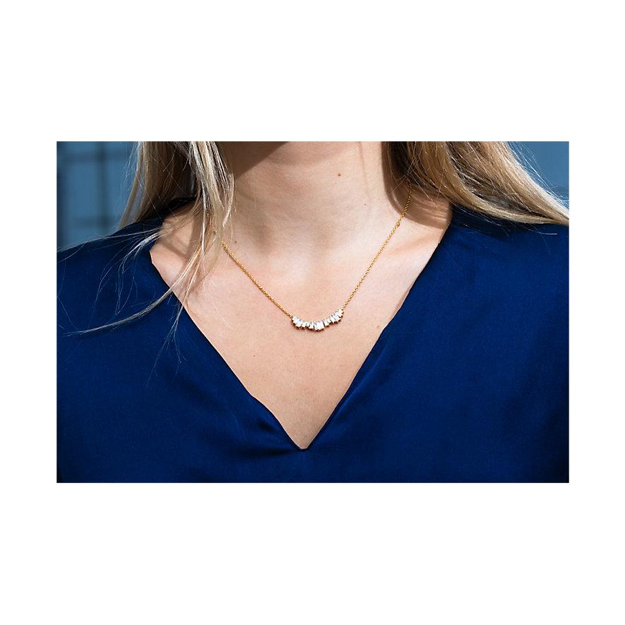 Sif Jakobs Jewellery Kette SJ-C1077-CZ-YG