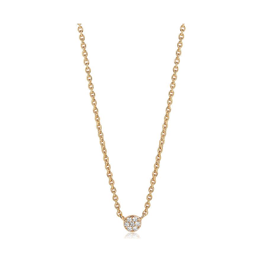 Sif Jakobs Jewellery Kette SJ-C2773-CZ-YG