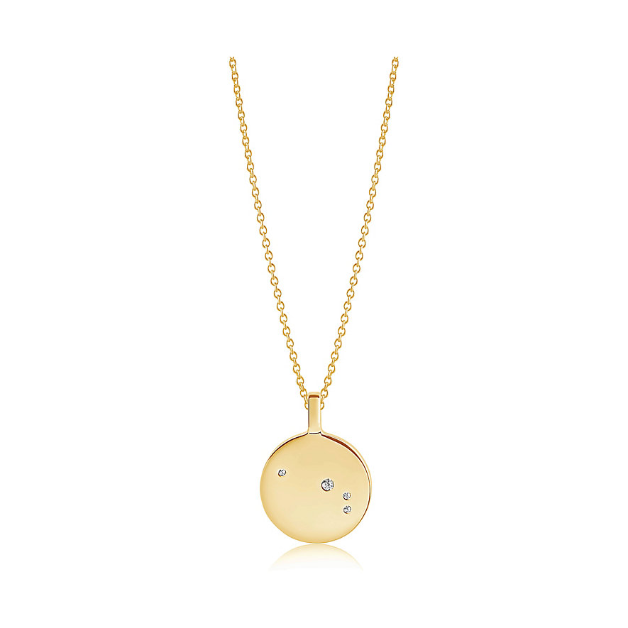Sif Jakobs Jewellery Kette  SJ-P1053-CZ(YG)/45