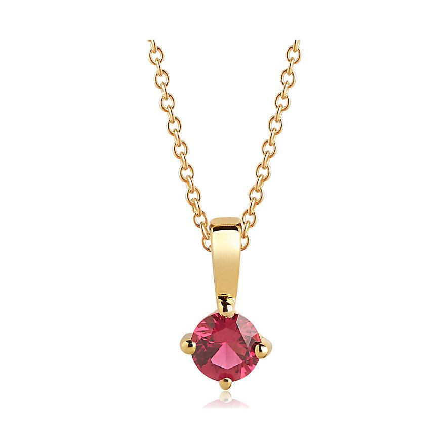 Sif Jakobs Jewellery Kette SJ-P4MMRD-RED-YG-45