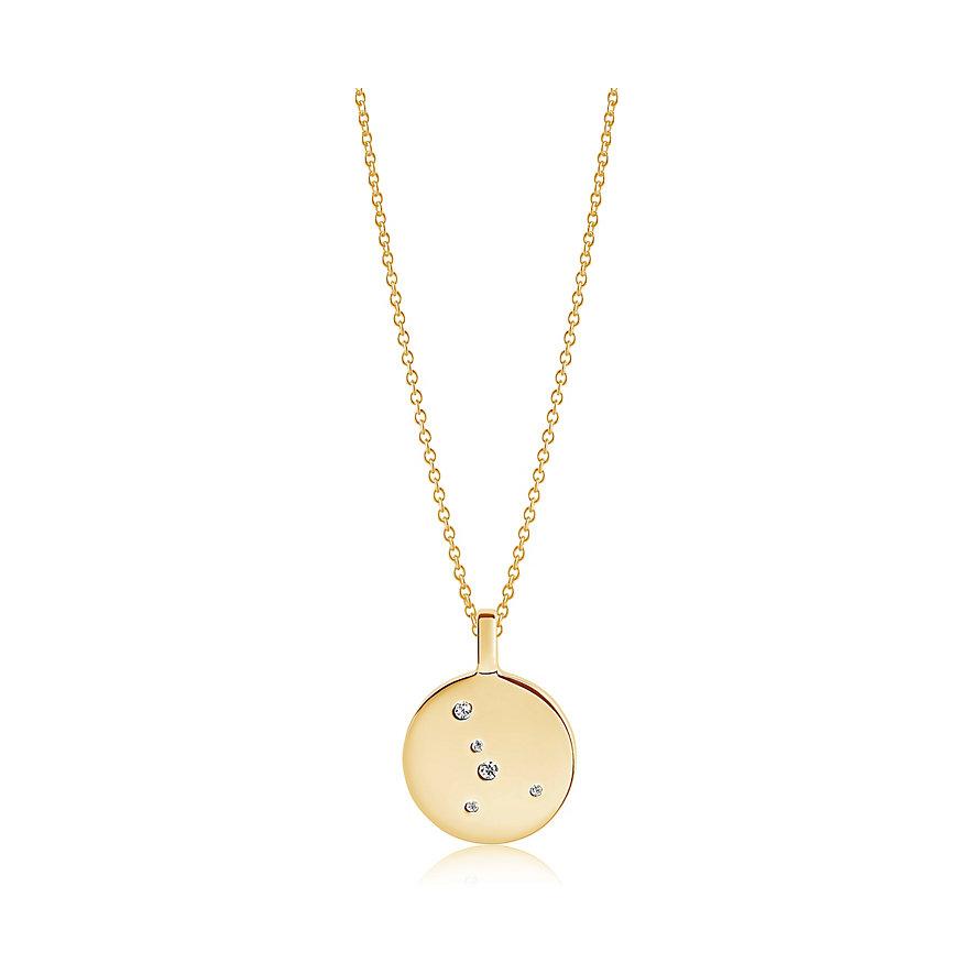 Sif Jakobs Jewellery Kette Sternzeichen Krebs SJ-P1057-CZ-YG-45