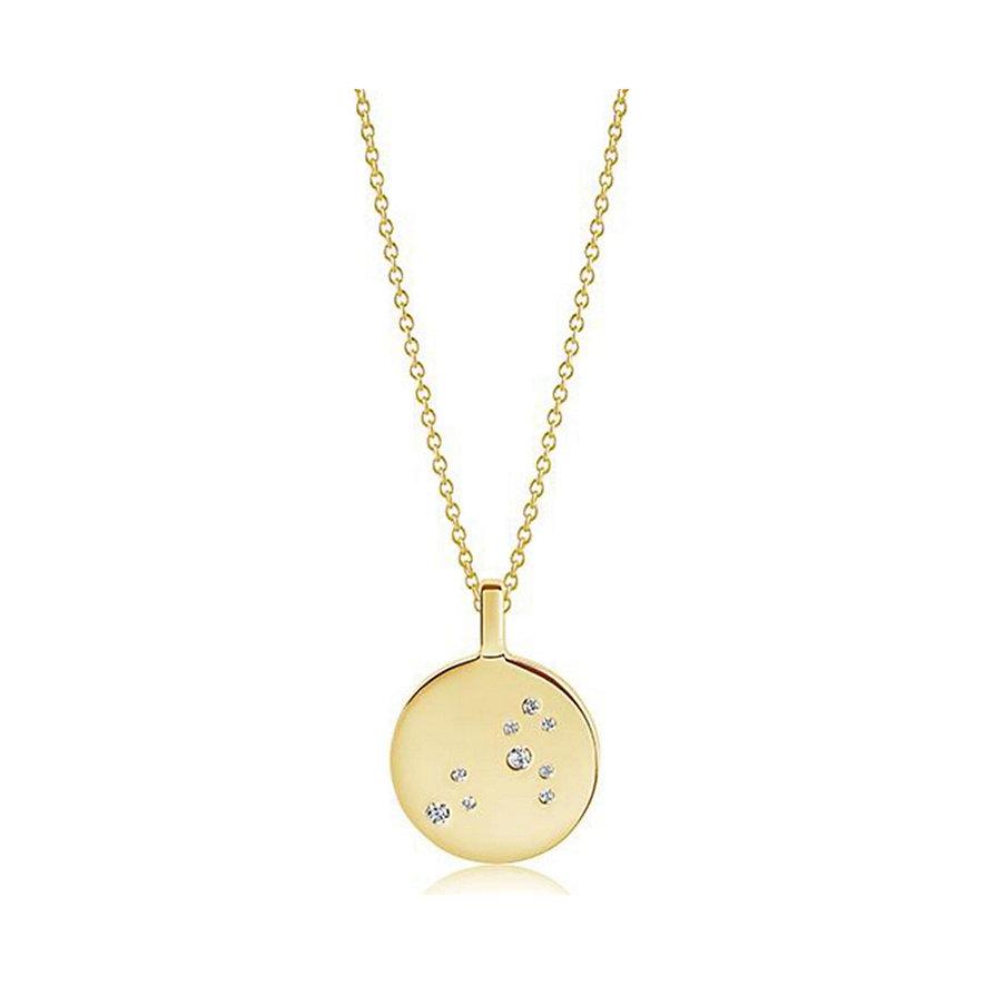 Sif Jakobs Jewellery Kette Sternzeichen Löwe SJ-P1058-CZ-YG