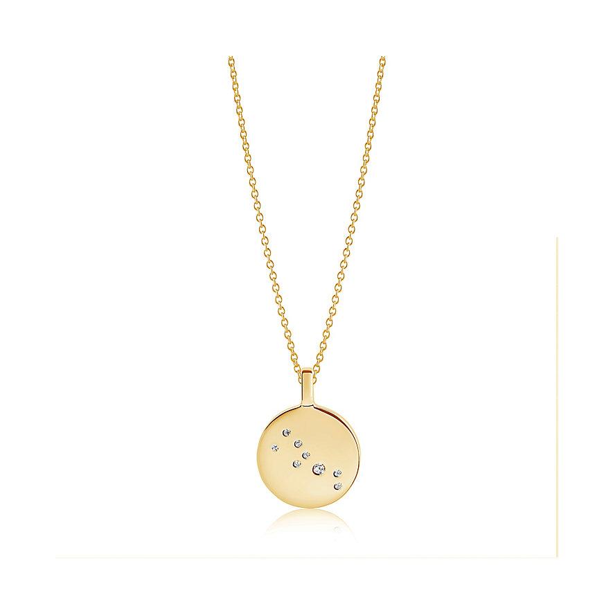 Sif Jakobs Jewellery Kette Sternzeichen Stier SJ-P1054-CZ-YG-45