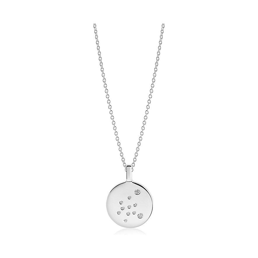 Sif Jakobs Jewellery Kette Sternzeichen Wassermann SJ-P1064-CZ/45