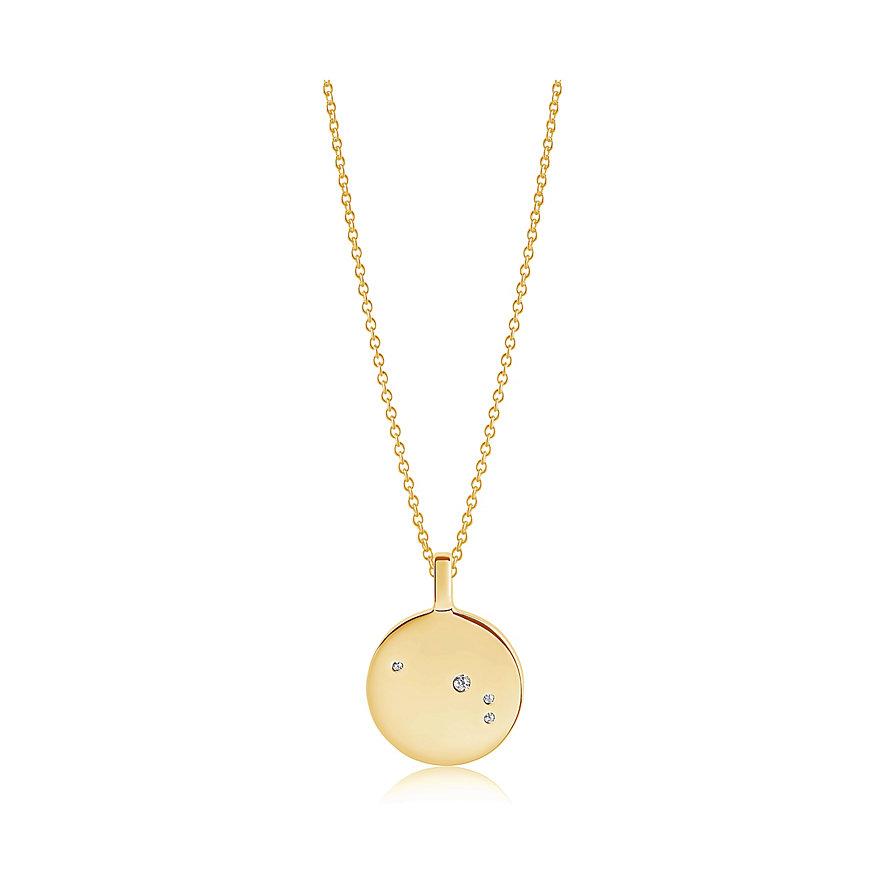 Sif Jakobs Jewellery Kette Sternzeichen Widder SJ-P1053-CZ-YG-45