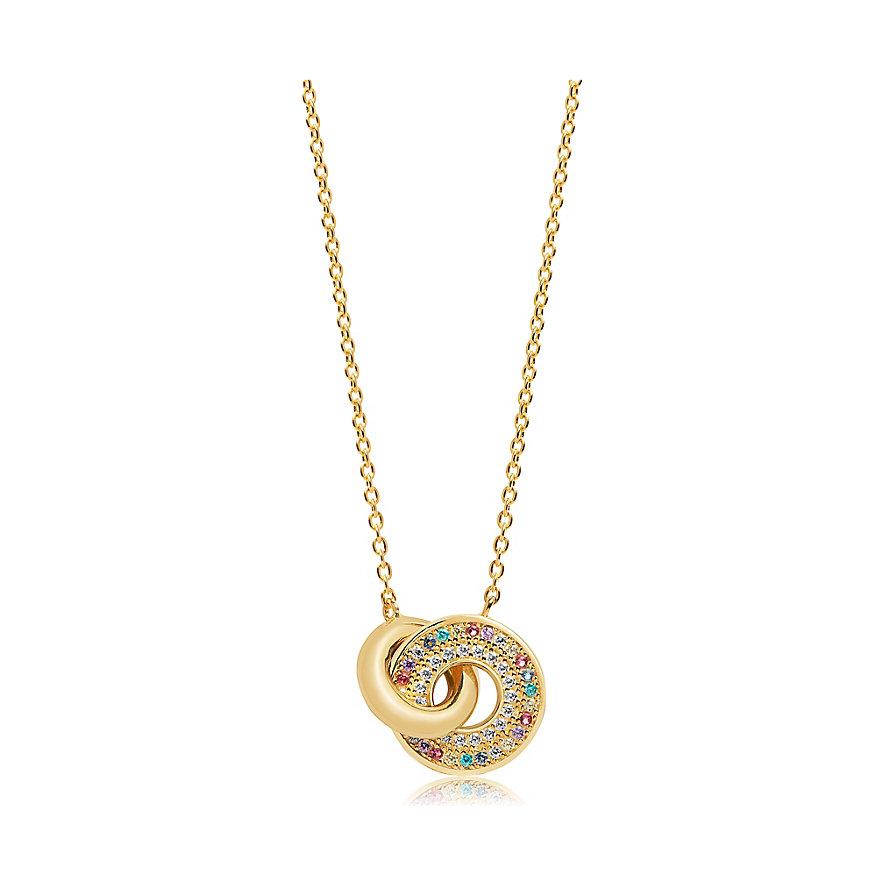 Sif Jakobs Jewellery Kette Valiano Due SJ-C1052-XCZ-YG