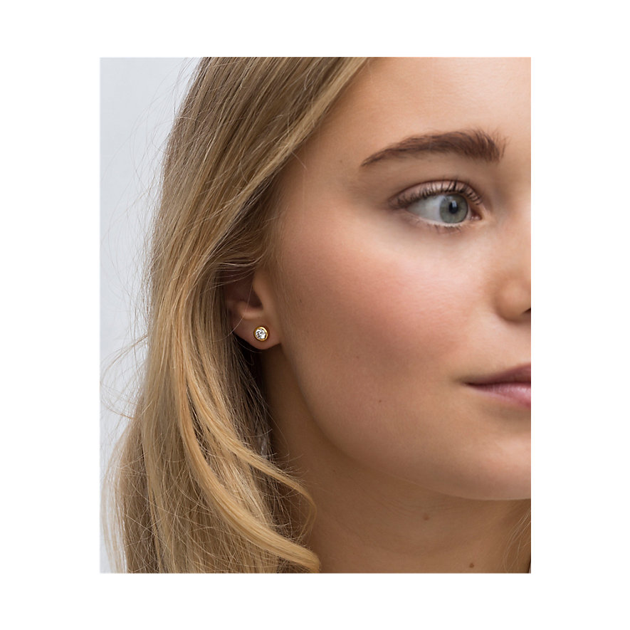 Sif Jakobs Jewellery Ohrhänger SJ-E1055-CZ(YG)