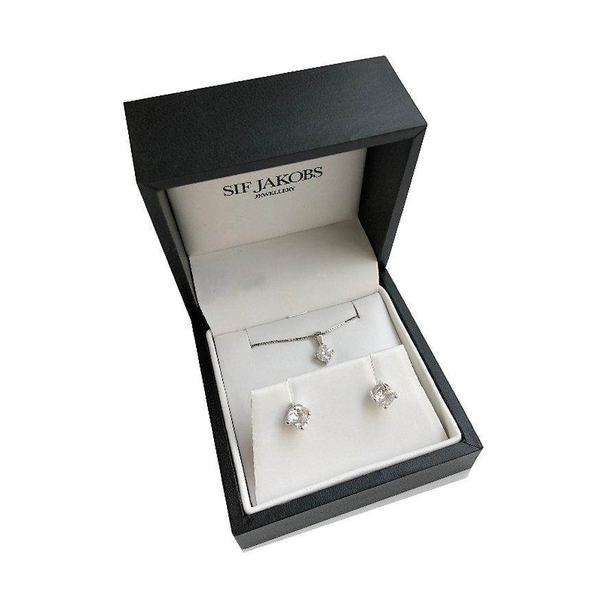 Sif Jakobs Jewellery Schmuck-Set SJ-E5MMP6MMRD_45-CZ