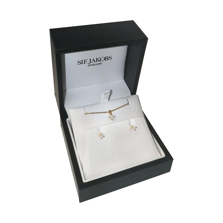 Sif Jakobs Jewellery Schmuck-Set SJ-P4MRDE3MRD-YG-CZ