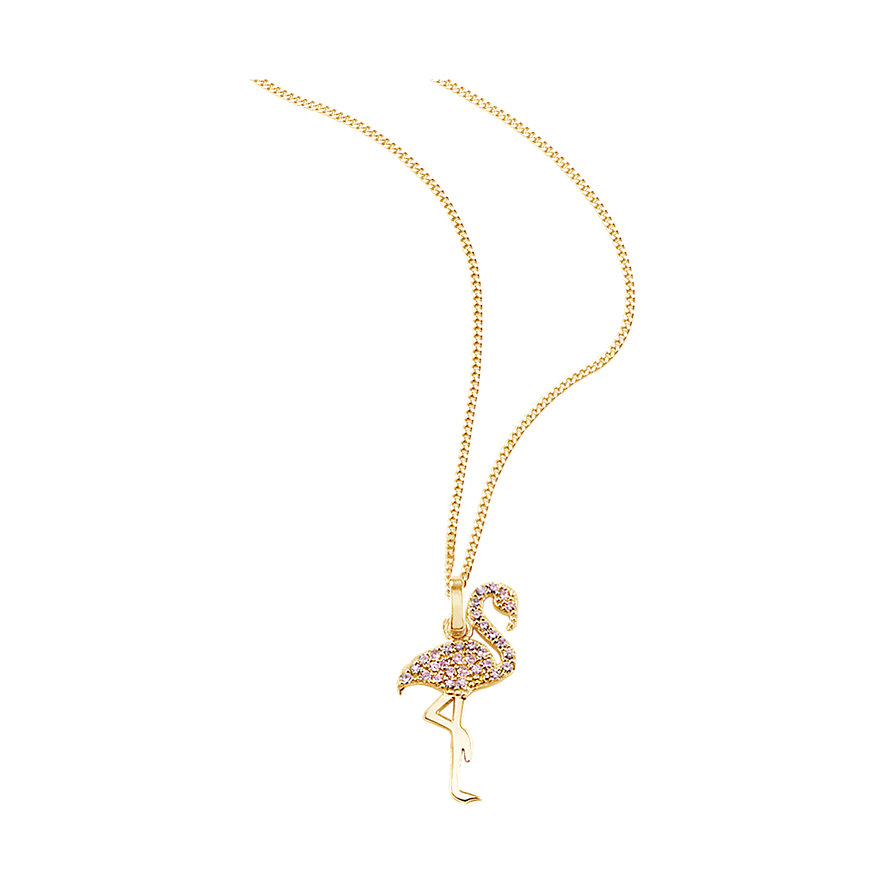 So Cosi Kette Pink Flamingo NGR-SK005