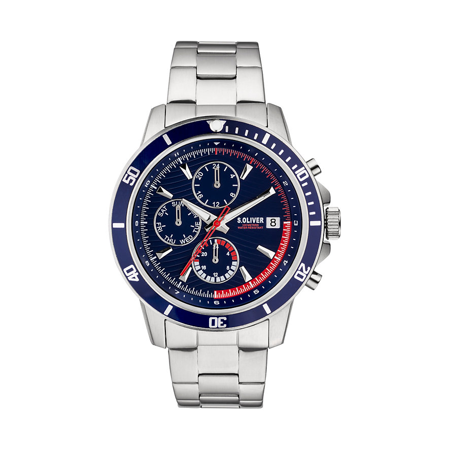 s.Oliver Chronograph SO-3859-MC