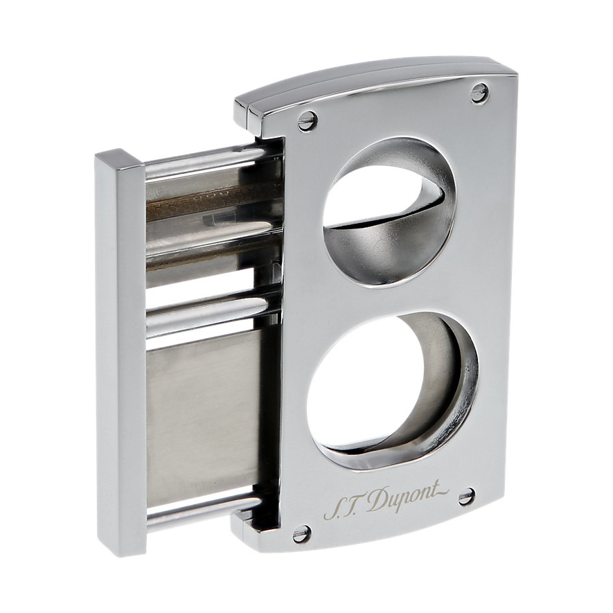 S.T. Dupont Feuerzeug Cigar Cutter Chrome Finish 003418