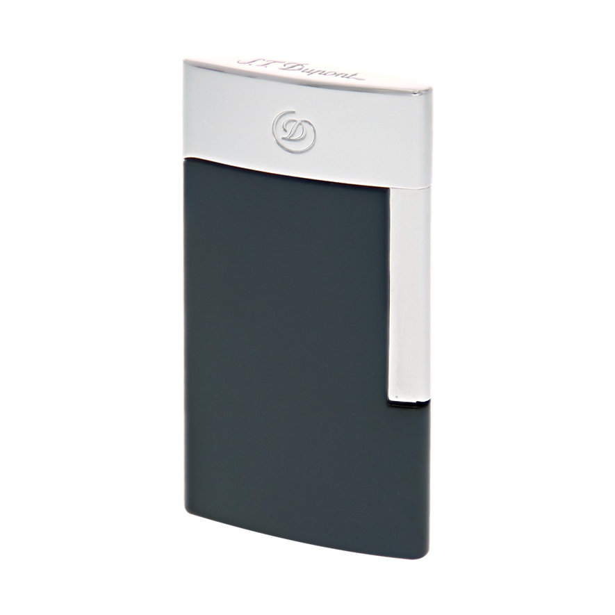S.T. Dupont Feuerzeug Li E Slim Grey 027010E
