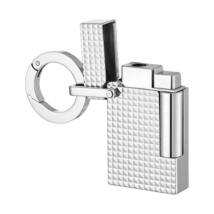 S.T. Dupont Schlüsselanhänger Key Ring Lighter Goldsmith 027002KR
