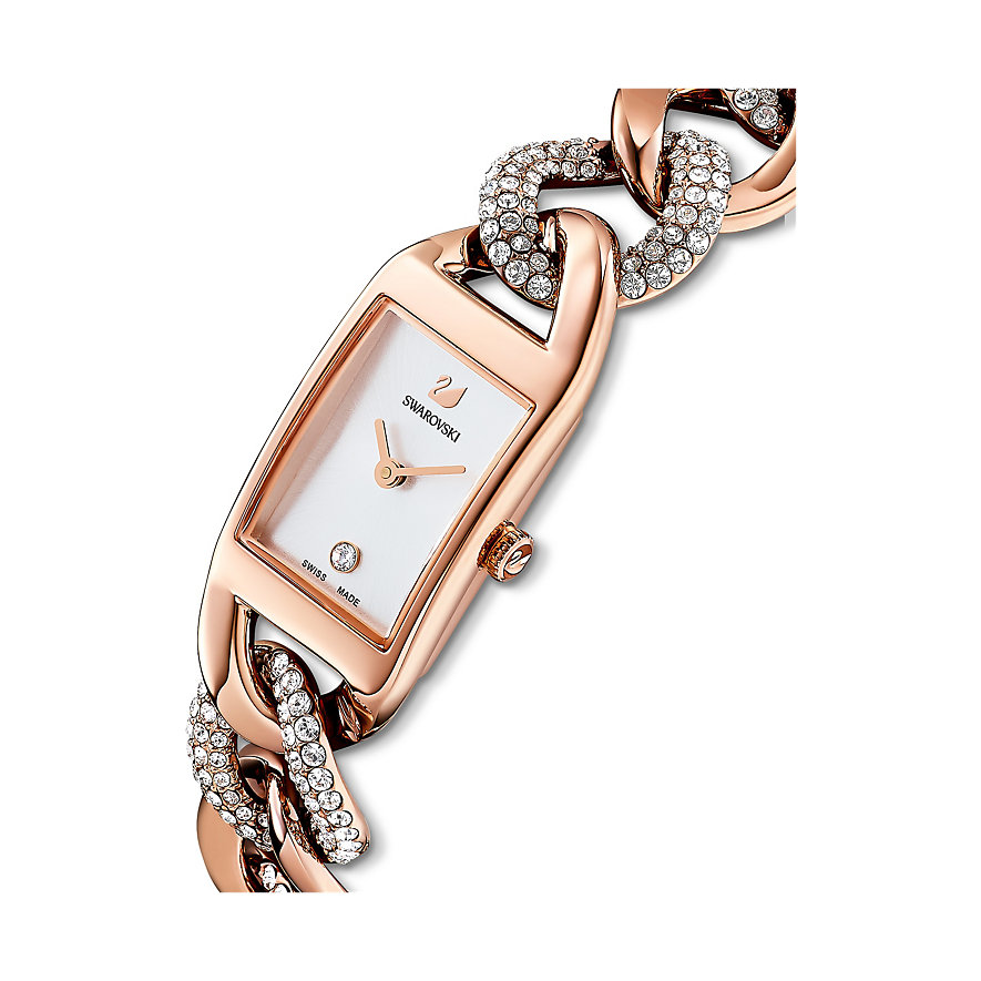 Swarovski Damenuhr Cocktail Uhr, Metallarmband, 5519327