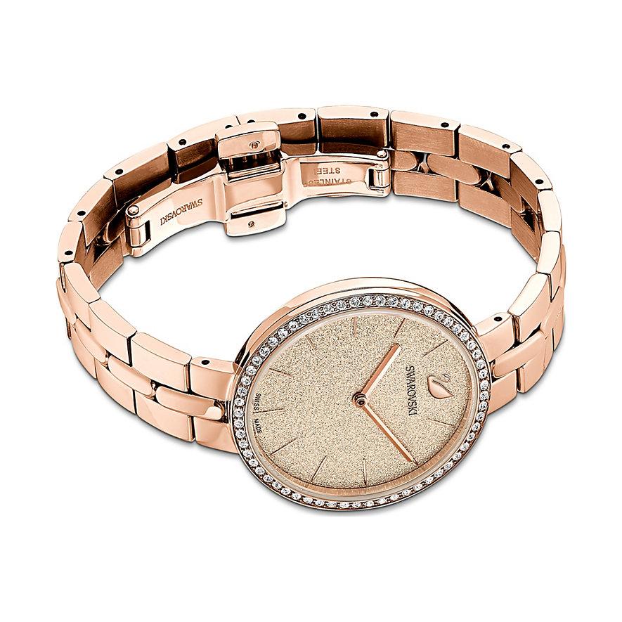 Swarovski Damenuhr Cosmopolitan Uhr, Metallarmband, 5517800