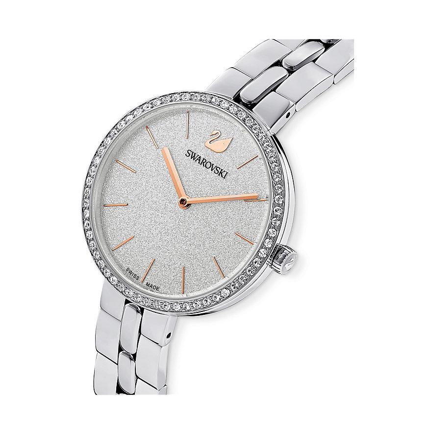 Swarovski Damenuhr Cosmopolitan Uhr, Metallarmband, 5517807