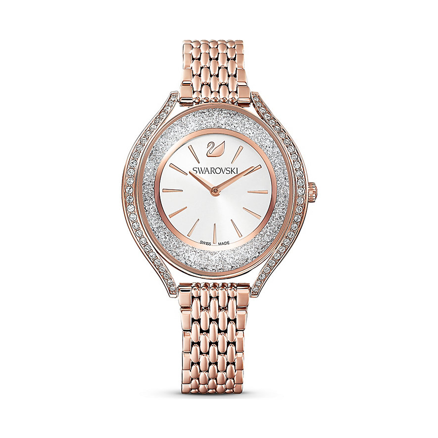 Swarovski Damenuhr Crystalline Aura Uhr, Metallarmband, 5519459