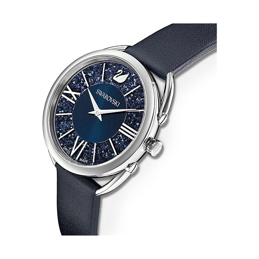 Swarovski Damenuhr Crystalline Glam Uhr, Lederarmband, 5537961