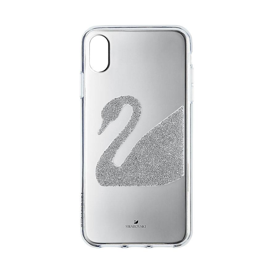 Swarovski Handyhülle Swan Fabric für Iphone® XS 5507383