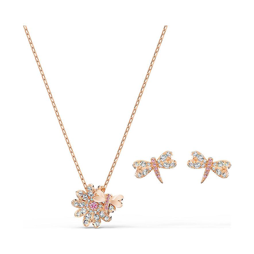 Swarovski Set Collier+ Eternal Flower, Set 5518141