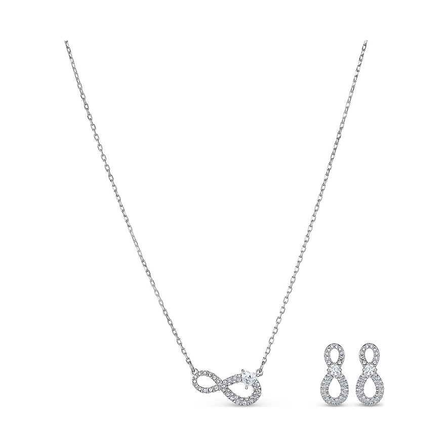 Swarovski Set, Collier+ Infinity, Set 5540702