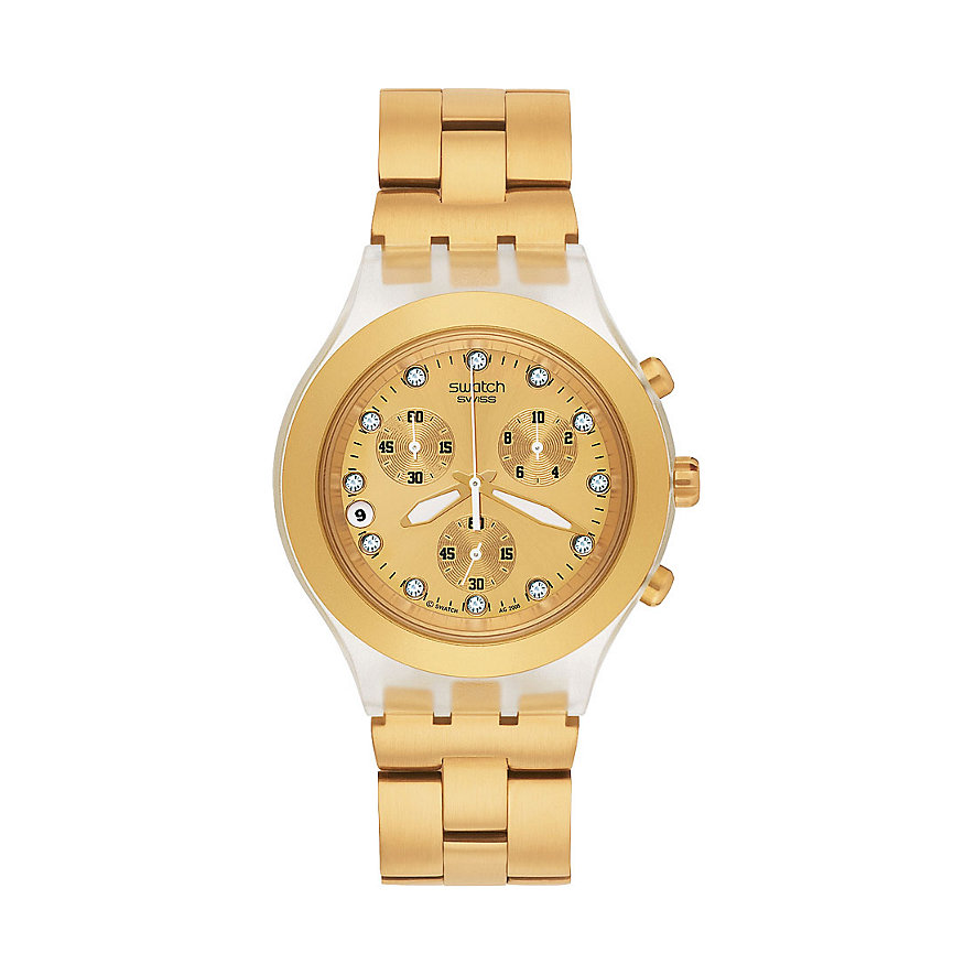 Swatch Chronograph Irony Chrono Full Blooded SVCK4032G