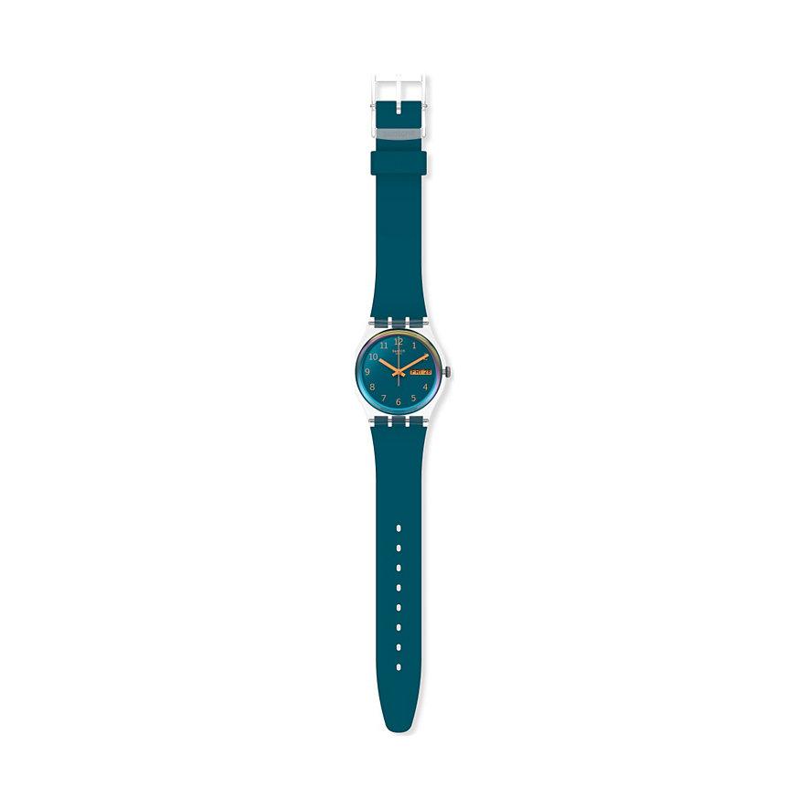 Swatch Damenuhr Blue Away GE721
