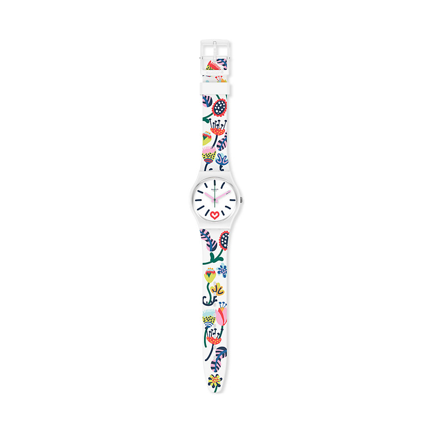 Swatch Damenuhr Just Flowers GW213