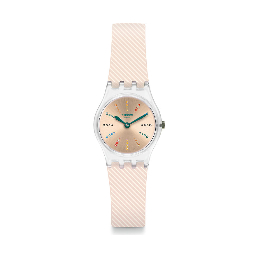 Swatch Damenuhr Quadretten LK372