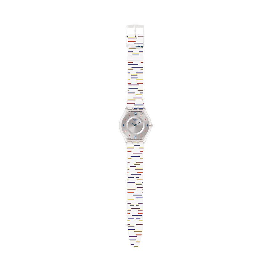Swatch Damenuhr Thin Liner SFE108