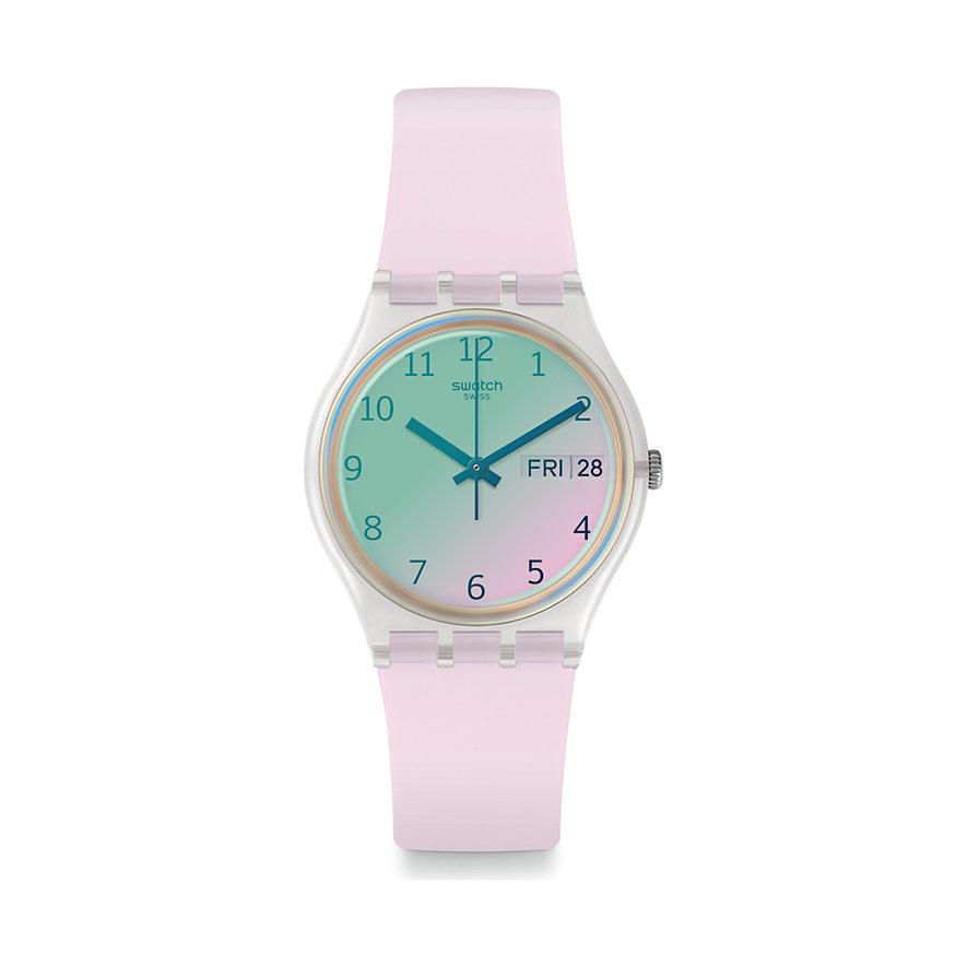 Swatch Damenuhr Ultrarose GE714
