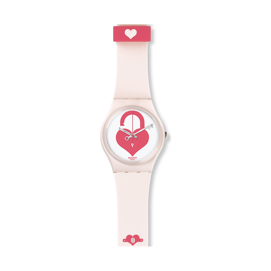 Swatch Damenuhr Unlock My Heart GZ292