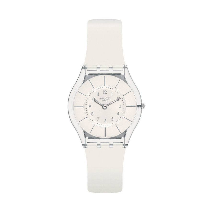 Swatch Damenuhr White Classiness SFK360
