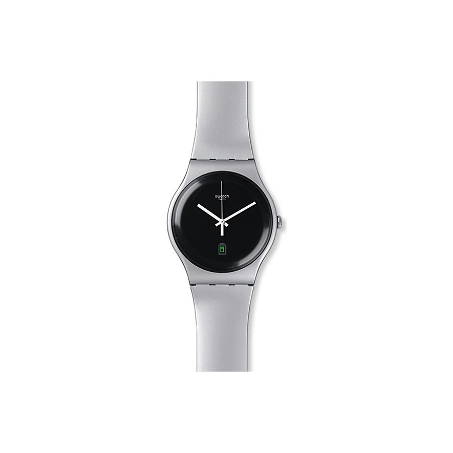 Swatch Herrenuhr Be Charged SUOB401