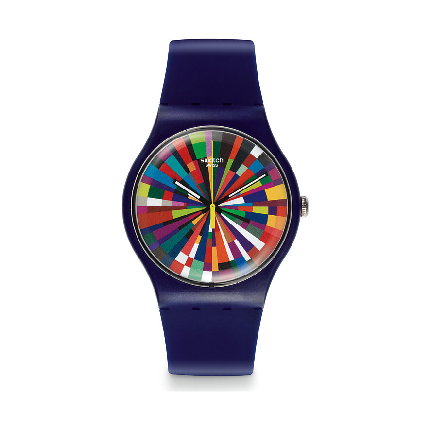 Swatch Herrenuhr Color Explosion SUOV101