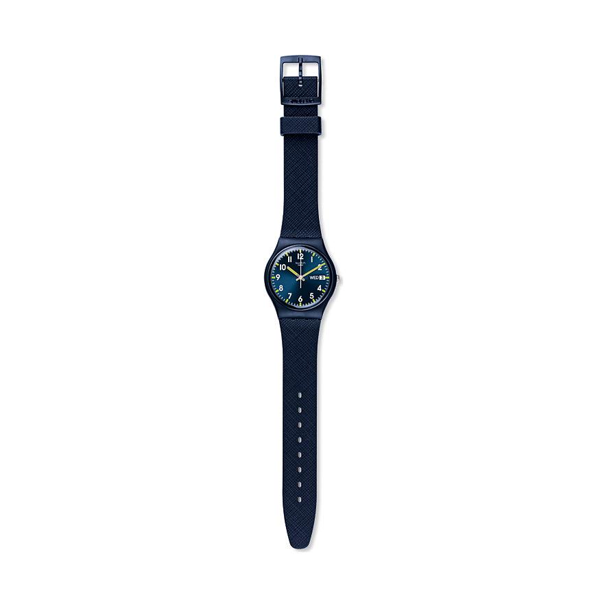 Swatch Herrenuhr Sir Blue GN718
