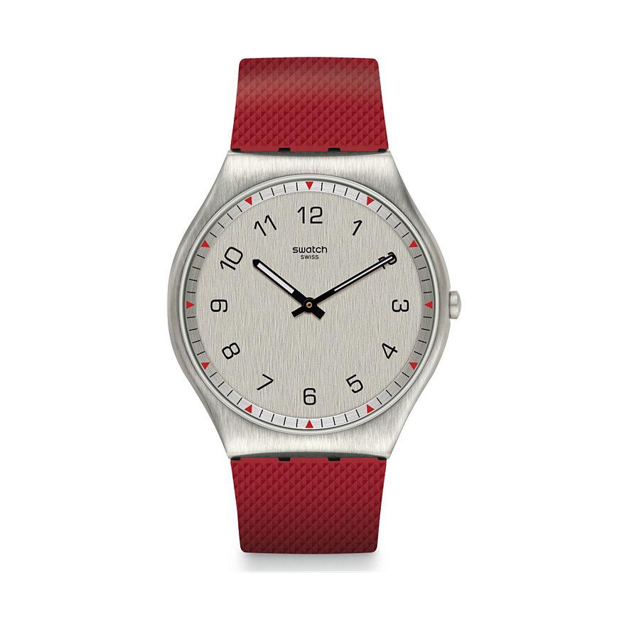 Swatch Herrenuhr Skinrouge SS07S105