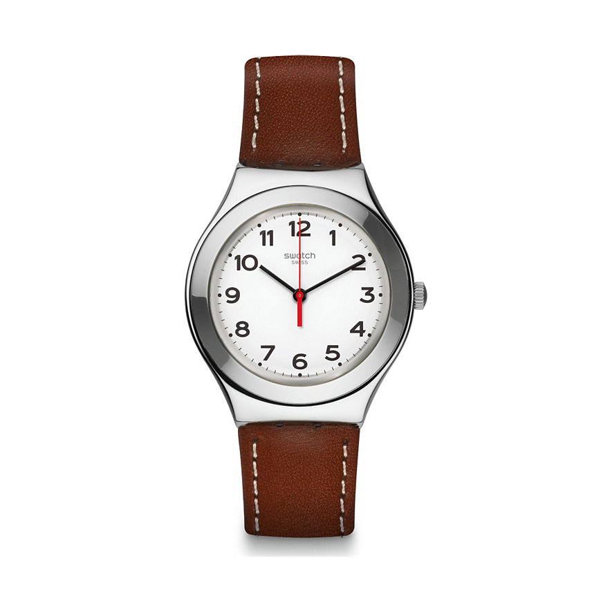Swatch Herrenuhr Strictly Silver YGS131