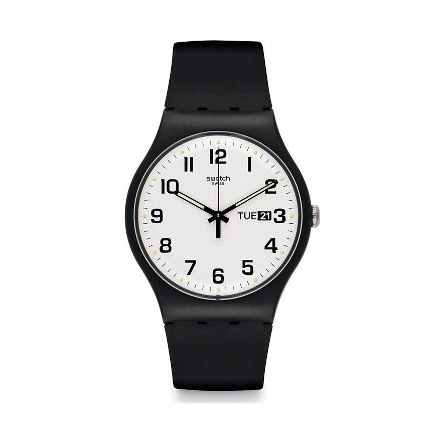 Swatch Herrenuhr SUOB705