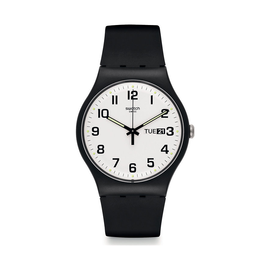 Swatch Herrenuhr Twice Again SUOB705
