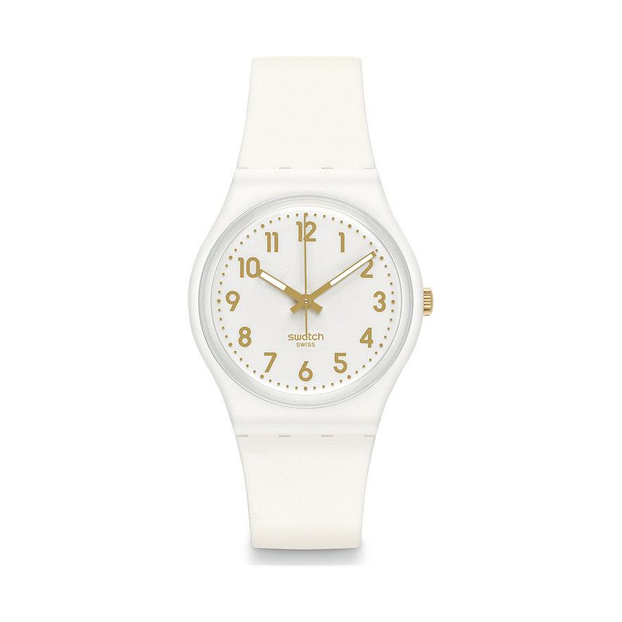 Swatch Herrenuhr White Bishop GW164